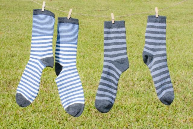 足の臭いが靴下について取れない!洗濯の仕方で臭いをなくす