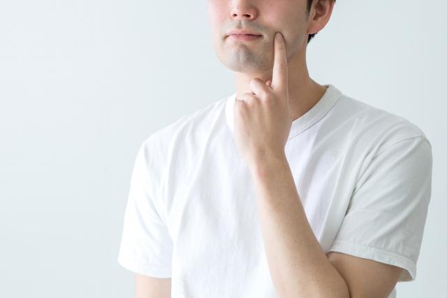 顎のラインをすっきり!男の小顔トレーニングとマッサージ