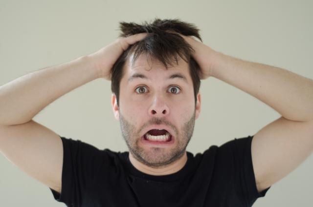 眉毛を剃ったら青い!男性にあるあるの困った悩みを解決!